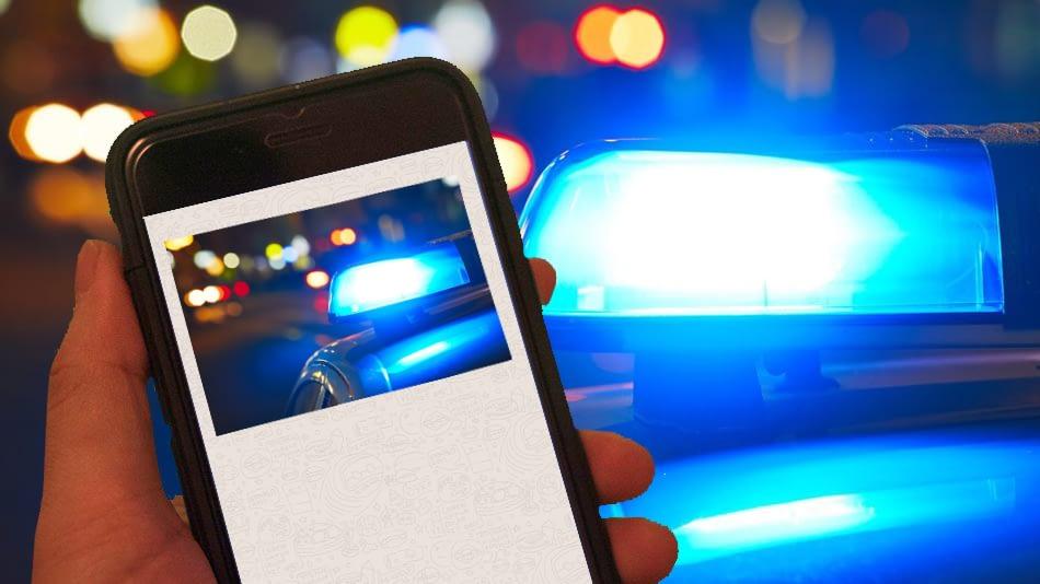 É crime divulgar blitz de trânsito?